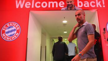 Guardiola a hetedik trófeáért játszana a Bayern München ellen