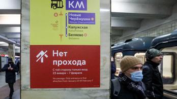 Bombával fenyegették meg az összes óvodát, iskolát és metróállomást Moszkvában