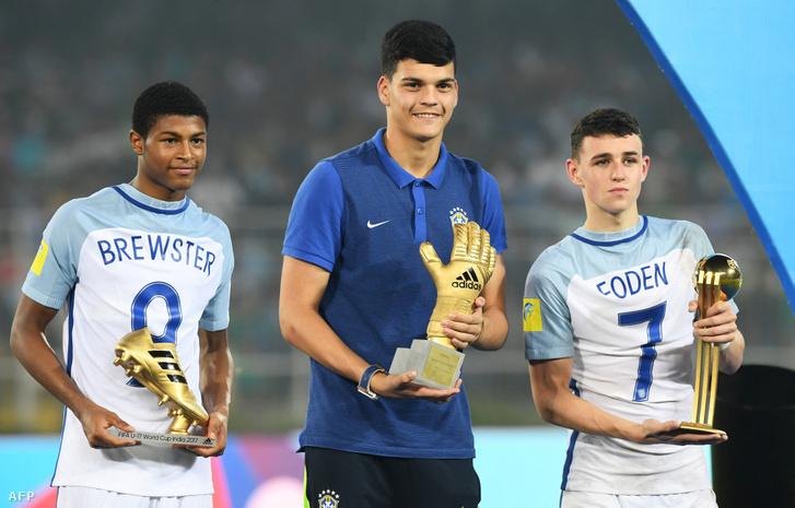 Az U17-es világbajnokság legjobb játékosának is megválasztották a döntőben kétszer is eredményes Fodent