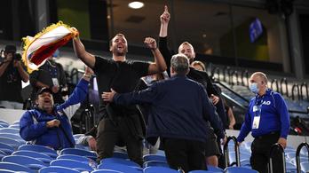 Djokovics meccse közben küldték haza a nézőket az Australian Openen