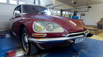 Totalcar Erőmérő: Citroën ID20 D Super – 1970.