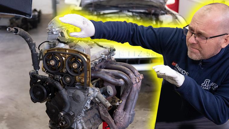 Csúnya dolgok a Celica motorjában
