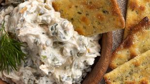 Kekszek és zöldségek mellé készíts mártogatóst jalapeñóval és parmezánnal!