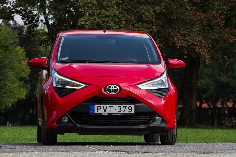 Egy Toyota a második helyen: egész pontosan az Aygo