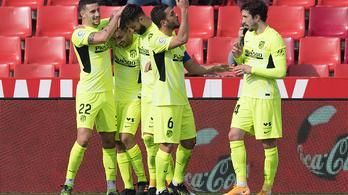 Az Atlético csapatkapitánya győzelemmel ünnepelhette a mérföldkövét