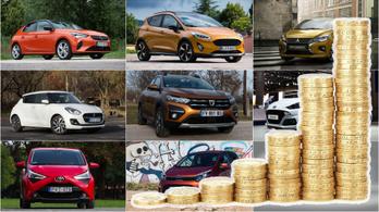 Ezek ma a legolcsóbb új autók