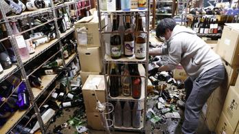 Hatalmas földrengés rázta meg Fukusimát