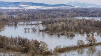 A Tisza Tivadarnál tetőzött, lejjebb még árad