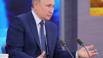 Putyin szerint Navalnij csak egy statiszta