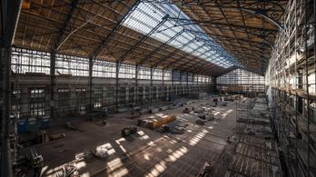 Elkészült a tetőfelújítás a Nyugati pályaudvaron