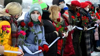 Valentin-napi gerillatüntetések Oroszországban
