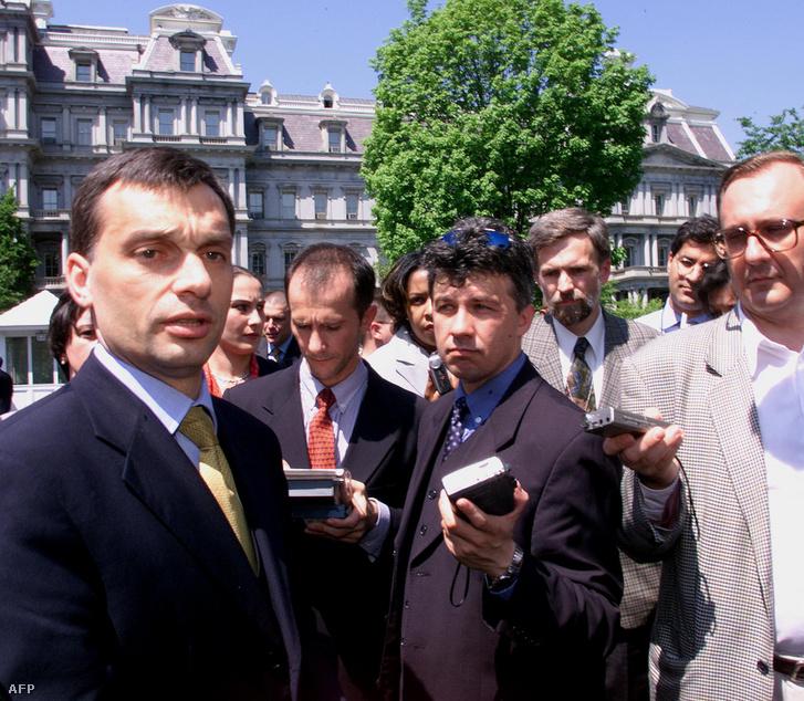 Orbán Viktor 2001-ben