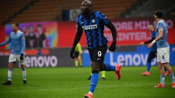 A Lazio legyőzésével az Inter a Serie A élére ugrott