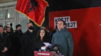 Koszovói exit poll: baloldali, nacionalista párt nyerhette a választást