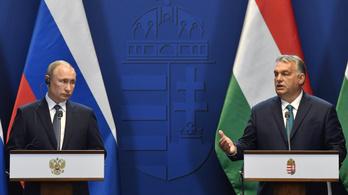 Putyin uniós bajkeverőként számít Orbán Viktorra