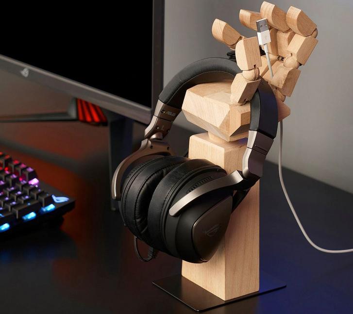 Fakéz alakú fejhallgatótartó gamereknek az IKEA-tól (Forrás: IKEA)