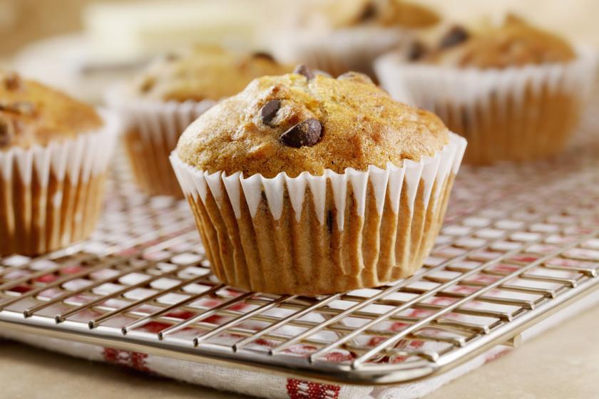 Vaníliás, csokis palacsintamuffin: így még puhább lesz a nagy kedvenc