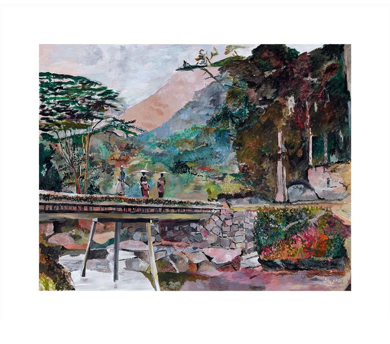 Számtalan kiállítása volt már, a legutóbbi hír a festményeivel kapcsolatban, hogy a 79 éves zenész ázsiai témájú alkotásaiból dedikált reprodukciók kaphatók.