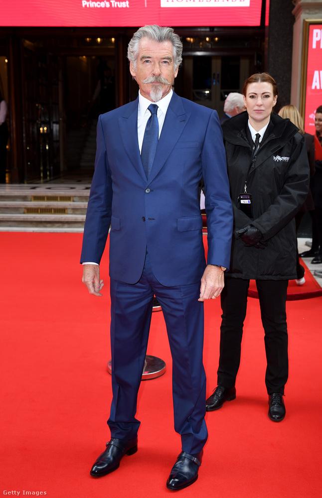 Pierce Brosnan színész is régóta fest