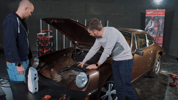Porsche 3D szkennelés, modellezés flexelés előtt | Galvanikus Kozma Gréta 4.