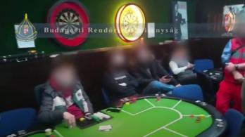 Lecsaptak az újpesti pókerklubra