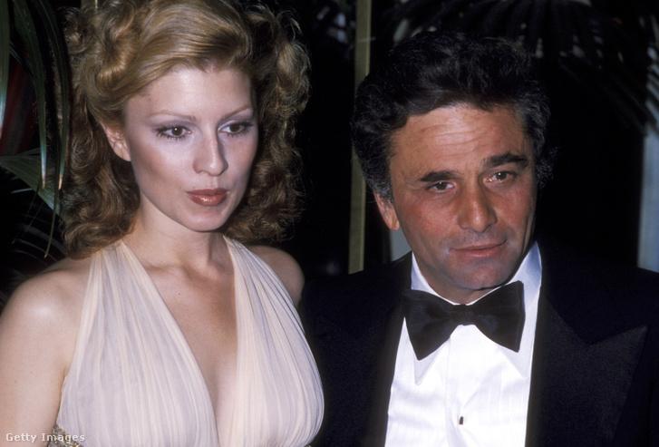 Shera Danese és Peter Falk 1978-ban.