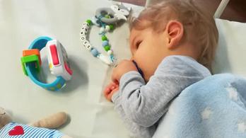 Még 124 millió hiányzik az SMA-s kisfiú meggyógyításához