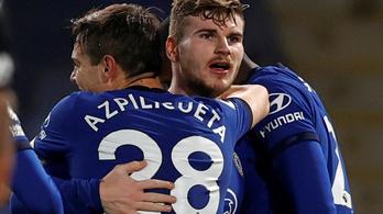 Werner 1000 perc után szerzett gólt, tovább szárnyal a Chelsea