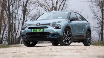 Teszt: Citroën e-C4 – 2021.