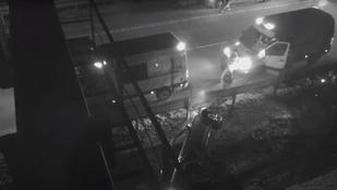 Részegen vezetett, felborult az M0-son, lestoppolt egy kamiont