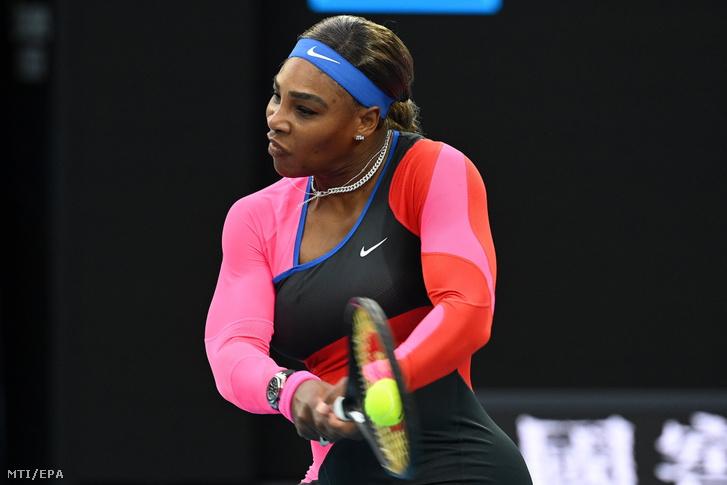 Serena Williams beérte Roger Federert