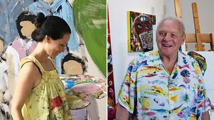 Sokkal több híres ember festőművész, mint gondolná