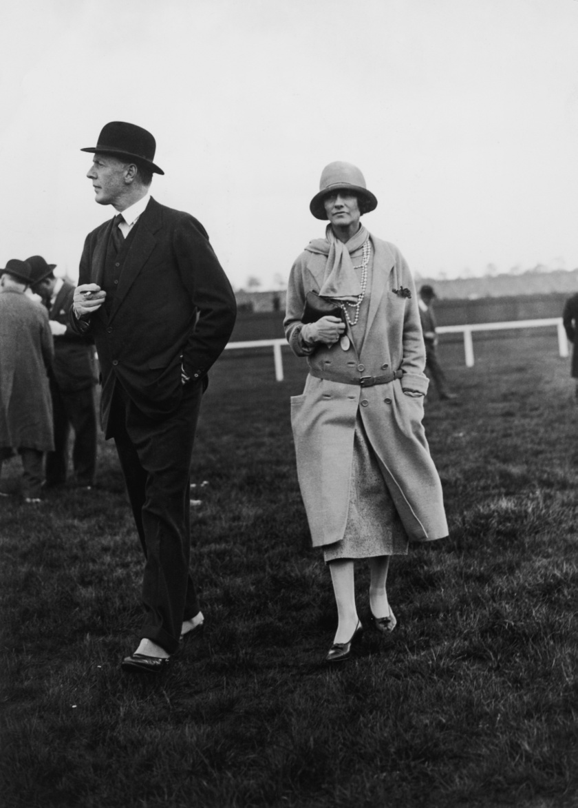 Westminster hercege és Coco Chanel 1924-ben.