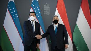 Orbán Viktor megköszönte Üzbegisztánnak a járványügyi együttműködést