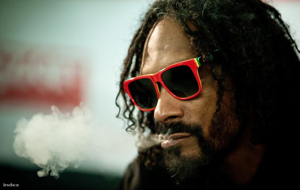 Calvin Broadus, ismertebb nevén Snoop Dogg a Sziget fesztiválon adott koncertje utáni sajtótájékoztatón augusztus 11-én. A művész idén paradigmaváltáson esett át, és immár Snoop Lion néven reggae lemezt adott ki.