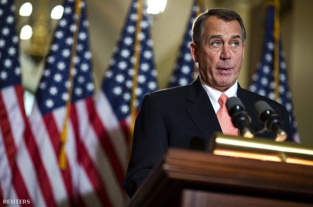 John Boehner republikánus házelnök