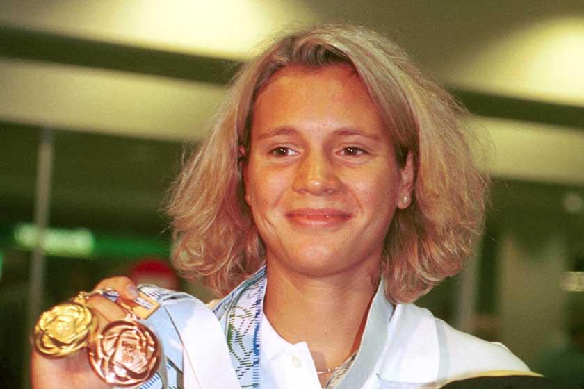 Kovács Ági tiniként lett olimpiai bajnok: az úszónő 40 évesen boldog édesanya