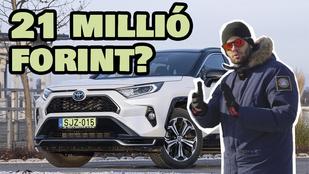 Videós teszt: Toyota RAV4 PHEV Selection Vip - 2021.