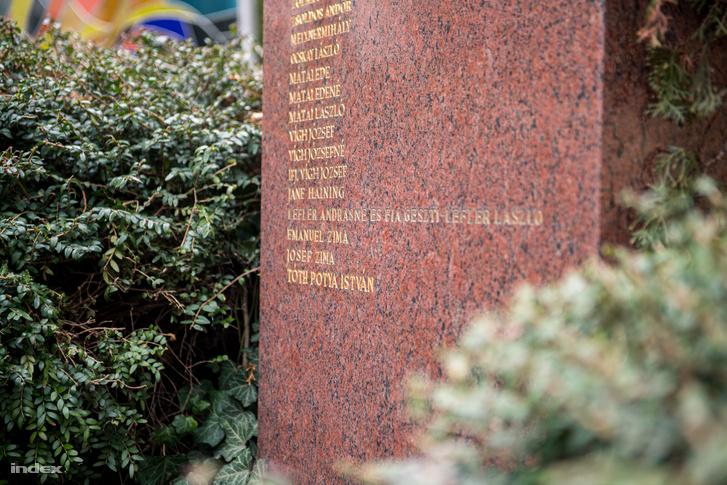 Tóth Potya István neve is felkerült az embermentők márványtáblájára