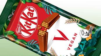 Örülhetnek az édesszájú vegánok, érkezik a növényi tejes KitKat
