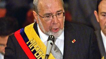 Meghalt Gustavo Noboa volt ecuadori elnök