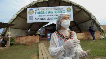 Brazíliában egy nap alatt 55 ezren fertőződtek meg koronavírussal