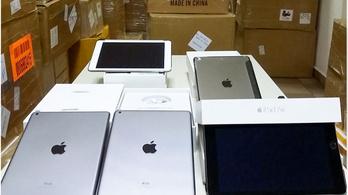 Valaki milliárdos akart lenni hamis Apple-termékkel Zalában
