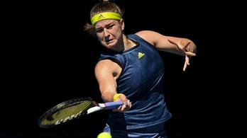 Kiesett a női világelső az Australian Openen