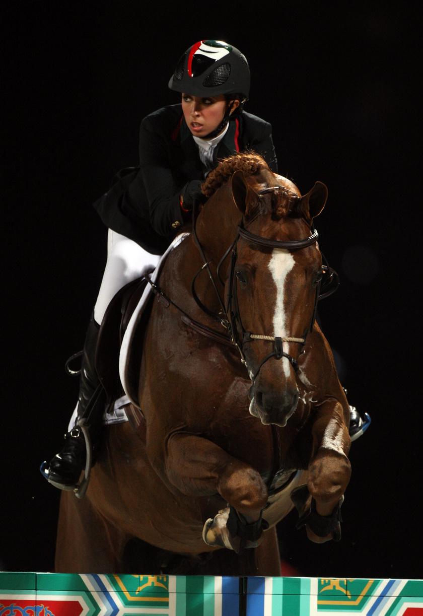 Latifa hercegnő részt vett a 2008-as olimpiai játékokon.