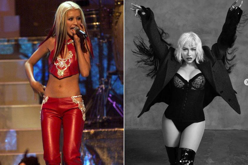 Christina Aguilera 2000-ben és napjainkban, az énekesnő büszke jelenlegi alakjára, és nem hajlandó soha többé diétázni.