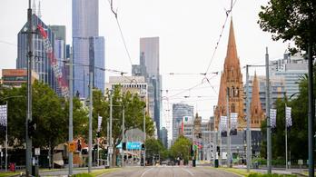 """""""Élő embert alig láttam az utcán"""" – pillanatkép a lezárt Melbourne-ből"""