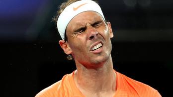 Kétszettes előnyről kapott ki Rafael Nadal az Australian Openen