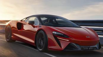 Új korszakot nyit a McLarennél a hibrid Artura