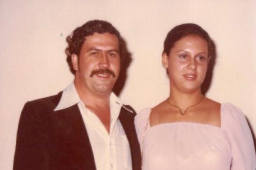 Pablo Escobar és Maria Victoria Henao